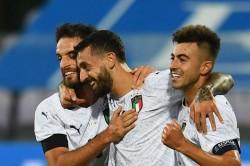 Italy Moldova International Friendly Report Francesco Caputo Debut Goal