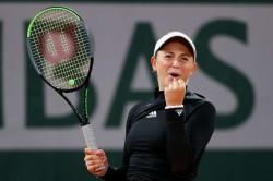 French Open Ostapenko Beats Pliskova In Second Round Roland Garros