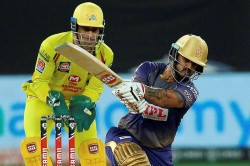 Ipl 2020 Csk Vs Kkr Match 49 1st Innings Blistering Knock From Nitish Rana Sees Kkr Post 172