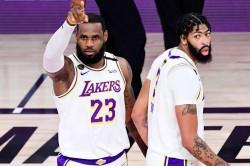Nba Finals Game 6 Lakers Lebron James Davis Heat