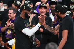 Nba Finals Finals Lakers Championship Lebron James Davis