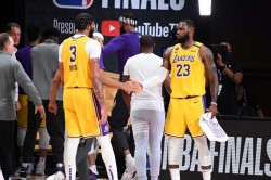 Nba Finals James Stars Lakers Move Within Touching Distance Nba Championship