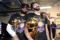 Nba Finals Anthony Davis Respect True Friendship With Lebron James Sparked Lakers