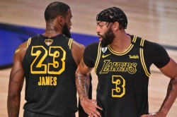 Nba Finals Lebron James Anthony Davis Lakers Kobe Bryant Shaquille Oneal