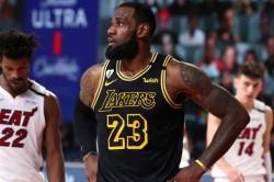 Nba Finals La Lakers Lebron James Heat