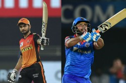 Ipl 2020 Srh Vs Dc Match 47 Pandey Pant Dhawan And Warner Chase These Milestones