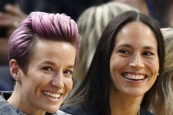 Usa World Cup Star Megan Rapinoe Engaged To Basketball Ace Sue Bird Biden Congratulations