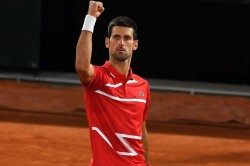 French Open 2020 Djokovic Battles Past Tsitsipas To Set Up Nadal Showdown