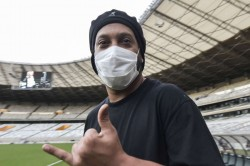 Ronaldinho Tests Positive Coronavirus