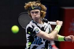 Andrey Rublev Denis Shapovalov Face St Petersburg Open Semi Final