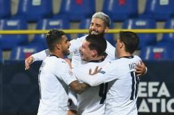 Italy Bosnia Herzegovina Nations League Report Andrea Belotti Domenico Berardi On Target