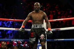 Terence Crawford Manny Pacquiao Fight Kell Brook Knockout