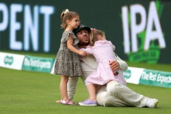 Warner S Wife Reveals Middle Child Is A Big Fan Of This Cricketer