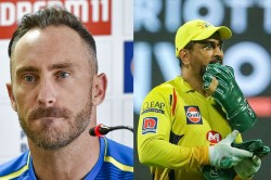 Ipl 2020 Chennai Super Kings Is Synonymous To Ms Dhoni Says Faf Du Plessis