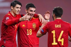Spain Germany Ferran Torres Leads Thrashing La Roja Reach Nations League Finals