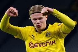 Borussia Dortmund Erling Haaland Breaks Another Champions League Goalscoring Record