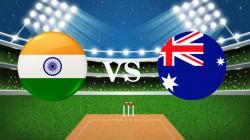 India Vs Australia 1st Odi Live Score Updates Sydney