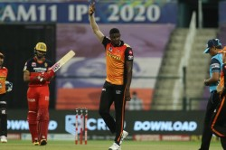 Ipl 2020 Jason Holder Impresses With A Three For Rattles Royal Challengers Bangalore