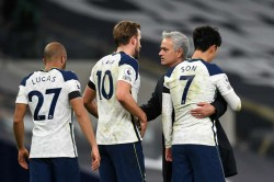 Jose Mourinho Tottenham Not Fighting For The Premier League Title After Man City Win