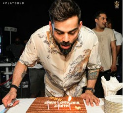 Virat Kohli Turns 32 Chris Gayle Ab De Villiers Special Wish For Royal Challengers Bangalore Captain