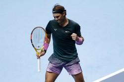 Atp Finals Rafael Nadal Defeats Stefanos Tsitsipas Last Four Place