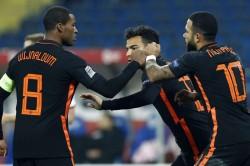 Poland Netherlands Memphis Depay Georginio Wijnaldum Goals In Nations League
