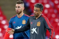 Sergio Ramos Real Madrid Contract Speculation Luis Enrique