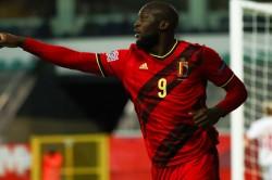 Belgium Denmark Romelu Lukaku Double Seals Nations League Finals