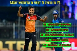 Ipl 2020 Sunrisers Hyderabad Pacer Sandeep Sharma Becomes Most Successful Bower In Powerplay