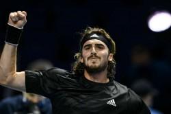 Tsitsipas Beats Rublev Atp Finals London Thiem Through Nadal
