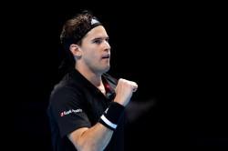 Atp Finals 2019 Finalist Thiem Outlasts Djokovic In Tense Semi