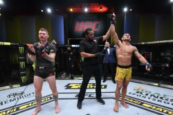 Ufc Vegas 14 Results Dos Anjos Claims Split Decision Willaims Kos Al Hassan