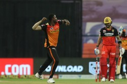 Ipl 2020 Virat Kohli Dismissed Cheaply By Jason Holder After Rcb Skipper Opts To Open Innings