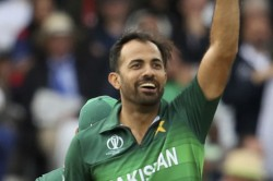Wahab Riaz Warned For Applying Saliva To Shine The Ball
