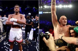 Anthony Joshua Denies Claims He Is Scared To Face Tyson Fury