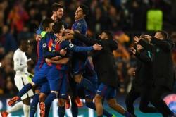 Champions League Last 16 Draw Barca And Psg To Renew Rivalry Bayern Face Lazio