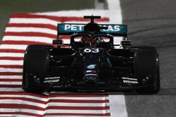 George Russell Fastest Mercedes Practice Sakhir Grand Prix