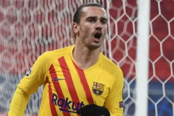 Antoine Griezmann On Target As Barcelona Claim A 3 0 Win Over Ferencvaros In Champions League