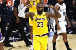 Lebron James Nba Record Streak La Lakers