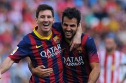 Fabregas Barcelona Is Home For Messi Ronaldo An Inspiration