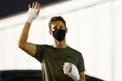 Romain Grosjean Returns Bahrain Track Charles Leclerc Feared Worst Formula One