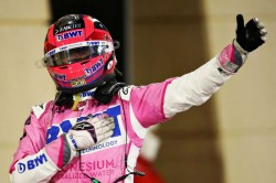 F1 2020 Sergio Perez Claims First Win Mercedes Error Denies Russell