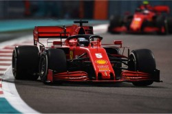 Vettel Ready For New Journey After Ferrari Farewell In Abu Dhabi