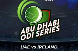 Uae Host Ireland For 4 Match Odi Series Schedule Tv Channels