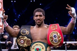Anthony Joshua Sees End In Sight Ahead Of Tyson Fury Fights Retirement Plans