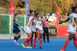 Indian Junior Women S Hockey Team Hold Chile Senior Women S Team To A 2 2 Draw