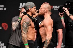 Mcgregor Ready And Raring To Go As He And Poirier Make Weight For Ufc