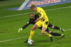 Rb Leipzig 1 3 Borussia Dortmund Erling Haaland Double Fc Bayern Top Bundesliga