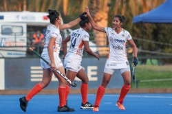Indian Junior Women S Hockey Team Come From Behind To Beat Chile Junior Women S Team 4