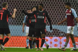 Aston Villa 1 4 Liverpool Reds Survive Huge Scare From Youthful Hosts